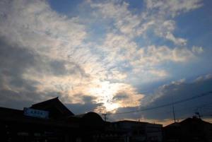 11月21日の空