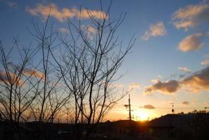 12月27日の空