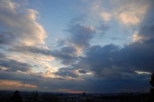 2008年12月31日の空