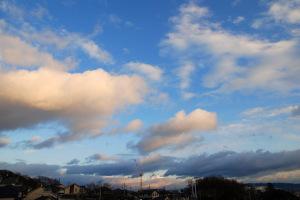 2009年1月10日の空