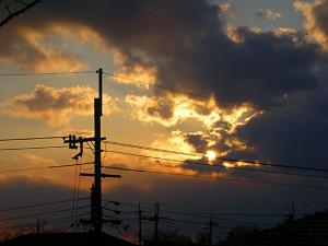 2009年1月25日の空