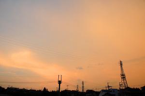 7月29日の空