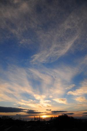 12月31日の空
